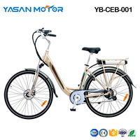 YB-CEB-001 (250W City light E-Bikes)