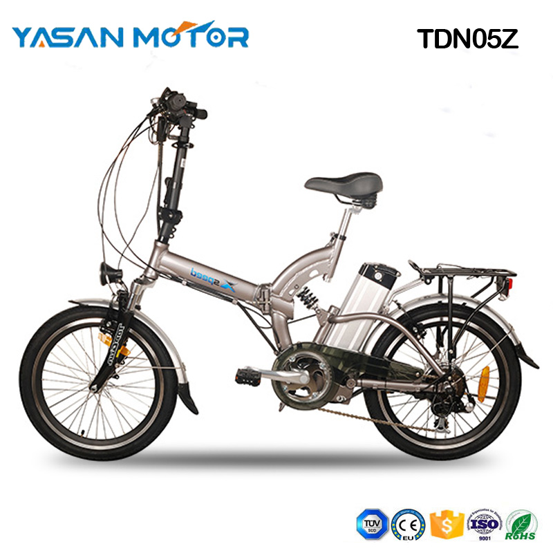 "TDN05Z(20"" Folding Ebike with Full Suspension)"