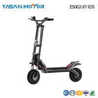 2400W Dual-Motor Sport Folding eScooter ES002-X11DS