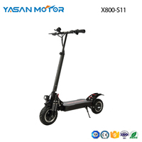 52V1200w*2 Dual motor Electric scooter  X800-S11