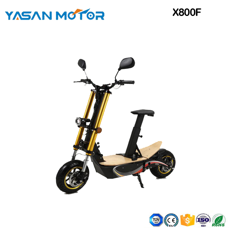 EEC Electric Scooter48V2000W 45KM/H EEC BOSSMAN X800F