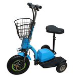 ZAPPY three wheel electric scooter