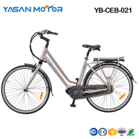 YB-CEB-021(700C Mid Drive City E Bike)