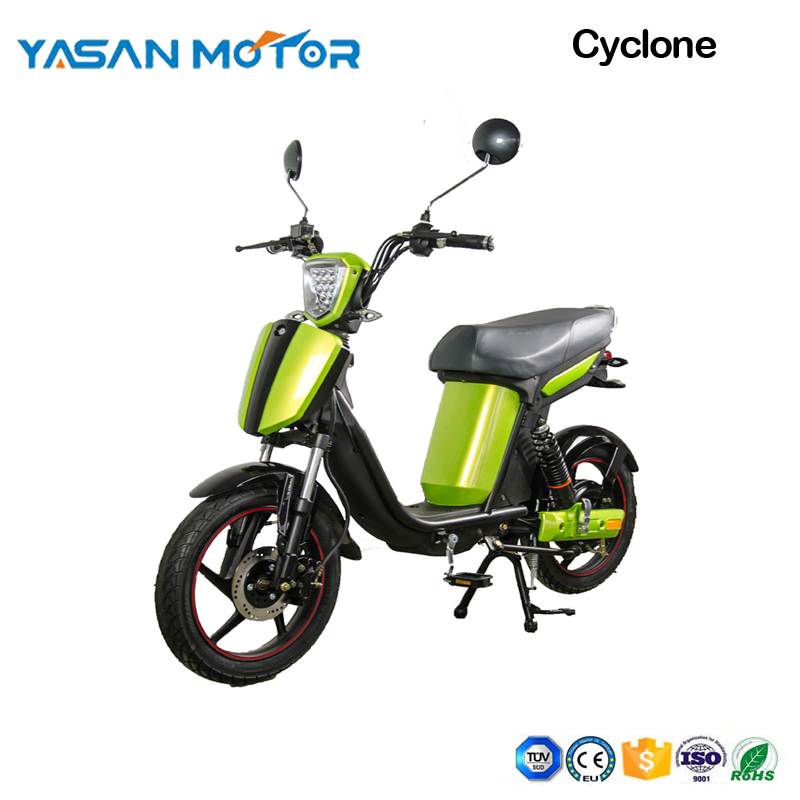 Cheap 500w cyclone E-motorcycle with pedal