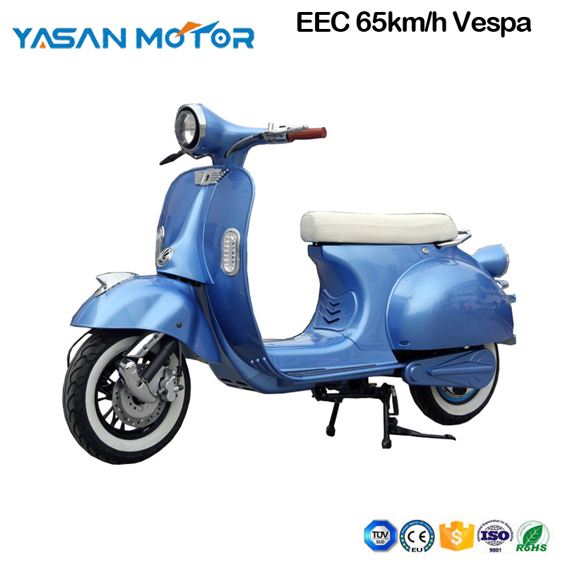 L3e EEC/COC 3000W 65km/h high speed scooter Vespa