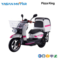 1500W PIZZA KING Delivery Electric Scooter  With Super Rear Box