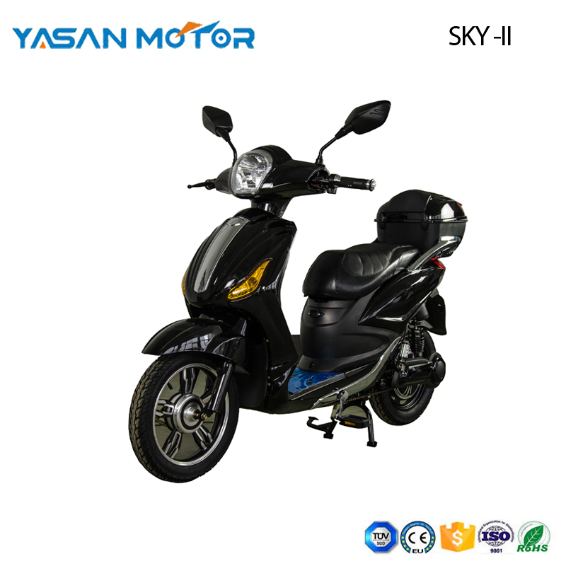 500W SKY II moped scooter with pedal