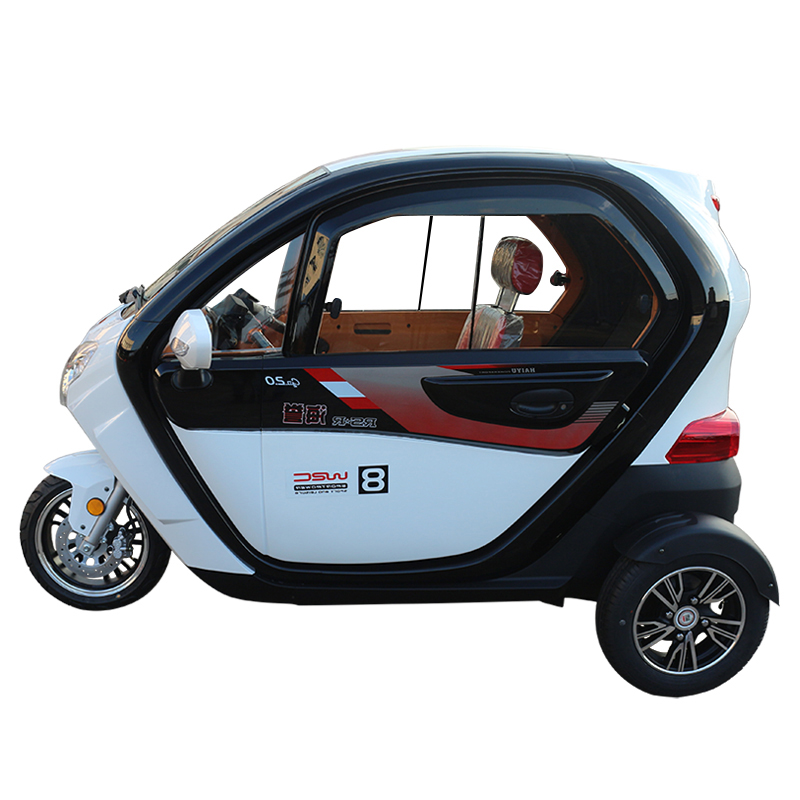 1500w closed 3 wheel electric car