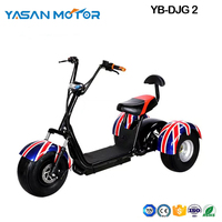 3  Wheel Electric Citycoco scooter DJG 2