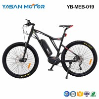 YB-MEB-019(Mid-drive Electric Mountain Bike)