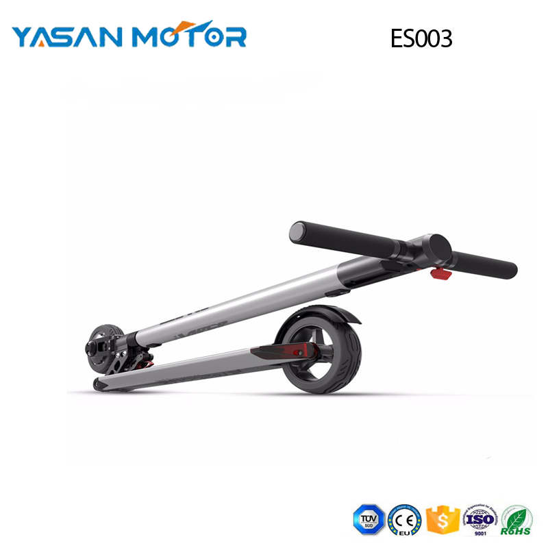 5.5 inch 250w mini Folding carbon scooter ES003