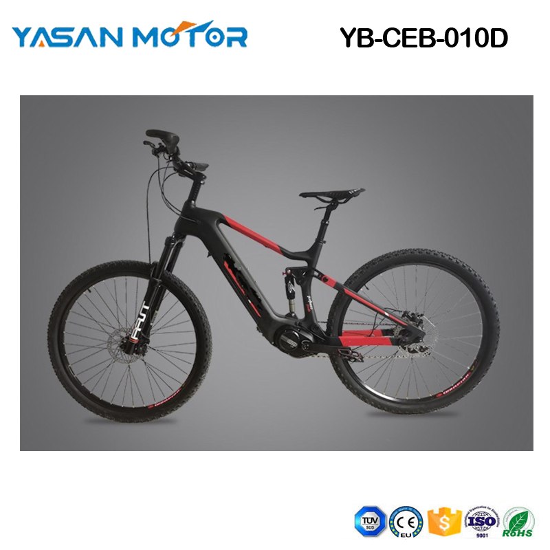 Electric Bike Mountain eBike 19inch Carbon eBike