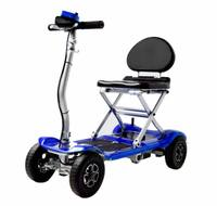 Super light 4 wheel electric Folding mobility scooter