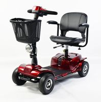 Four wheeler mobility scooter