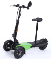 Three Wheel Drift Electric Floding Scooter