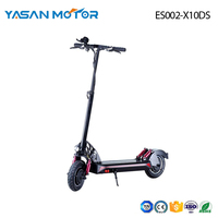2000W Dual-Motor Luxury Sport Folding eScooter ES002-X10DS