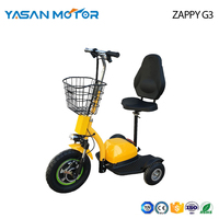 ECO 3-Wheel Scooter Zappy G3