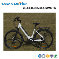 Electric Bike City eBike 250W Step Through