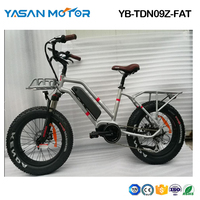 Electric Bike Fat Beach eBike Folding Ebike 20''